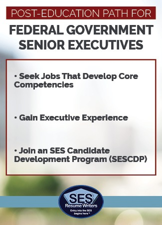 Post-education path for federal government senior executives